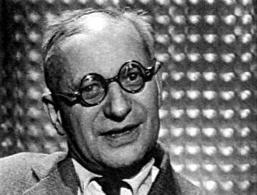 """L'última foto d'Armand Robin, extreta de l'emissió televisiva """"En français dans le texte"""" (agost de 1960)"""