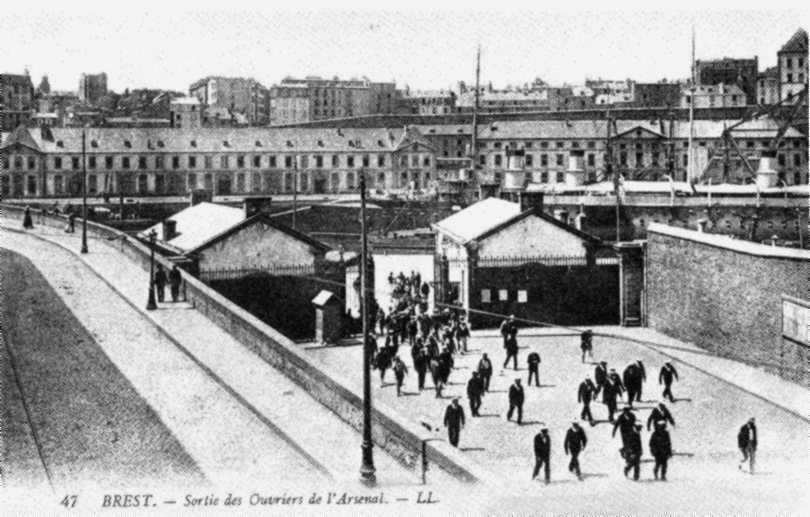 Sortida dels obrers de l'Arsenal de Brest