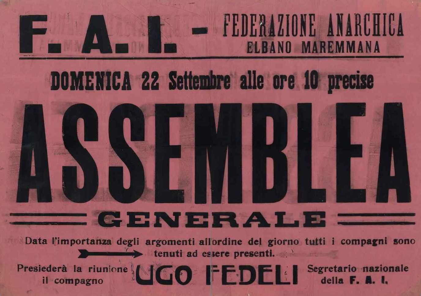 Cartell de l'Assemblea General de la FAEM