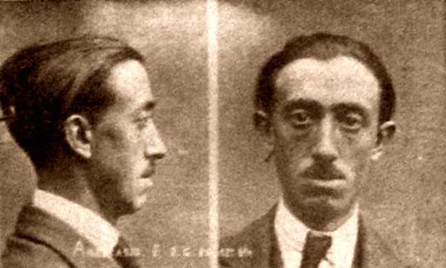 Foto policíaca de Francisco Atanasio