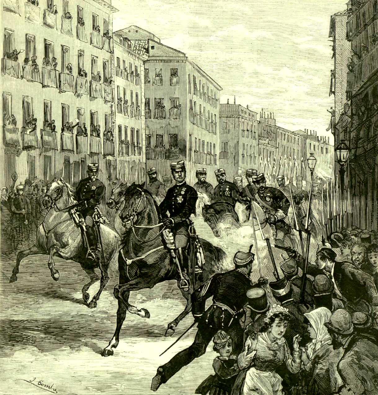 """El atentado de Oliva según """"La Ilustración Española y Americana"""" (30-10-1878)"""