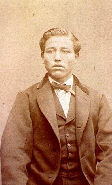 Émile Aubry fotografiat per Émile Appert (ca. 1871)