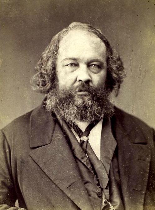 Mikhail Bakunin fotografiado por Nadar