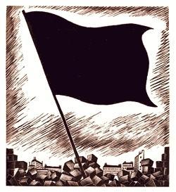 """""""La bandera negra"""", gravat de Falké"""