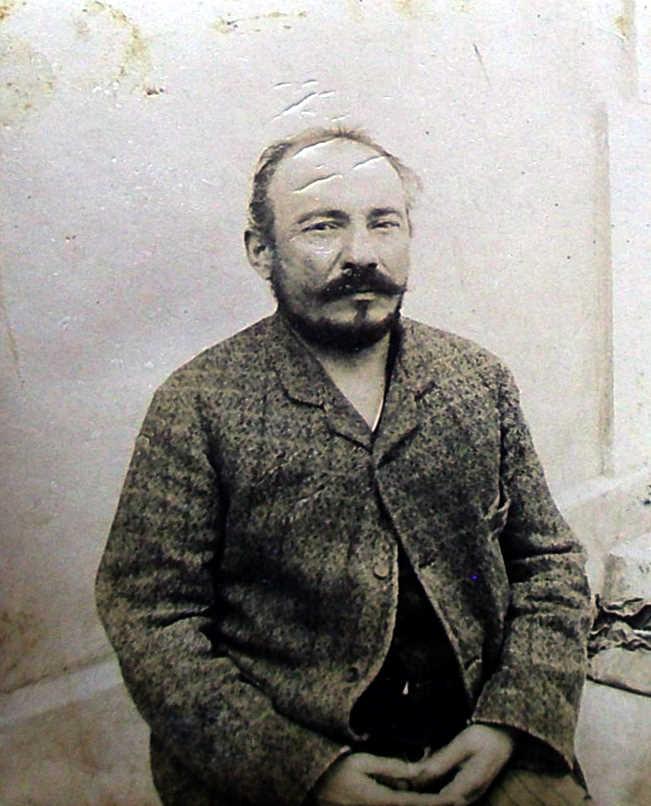 Foto policíaca de Pietro Bandini (1894)