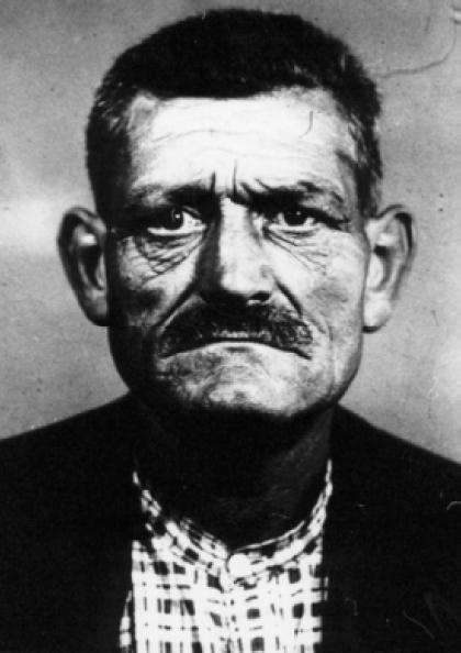 Foto d'Angelo Bandoni de la policia de Liorna (5 de juliol de 1930)