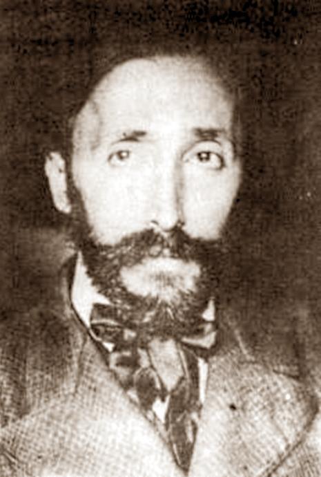 Rafael Barret a Montevideo a punt de partir cap a França (6 de setembre de 1910)