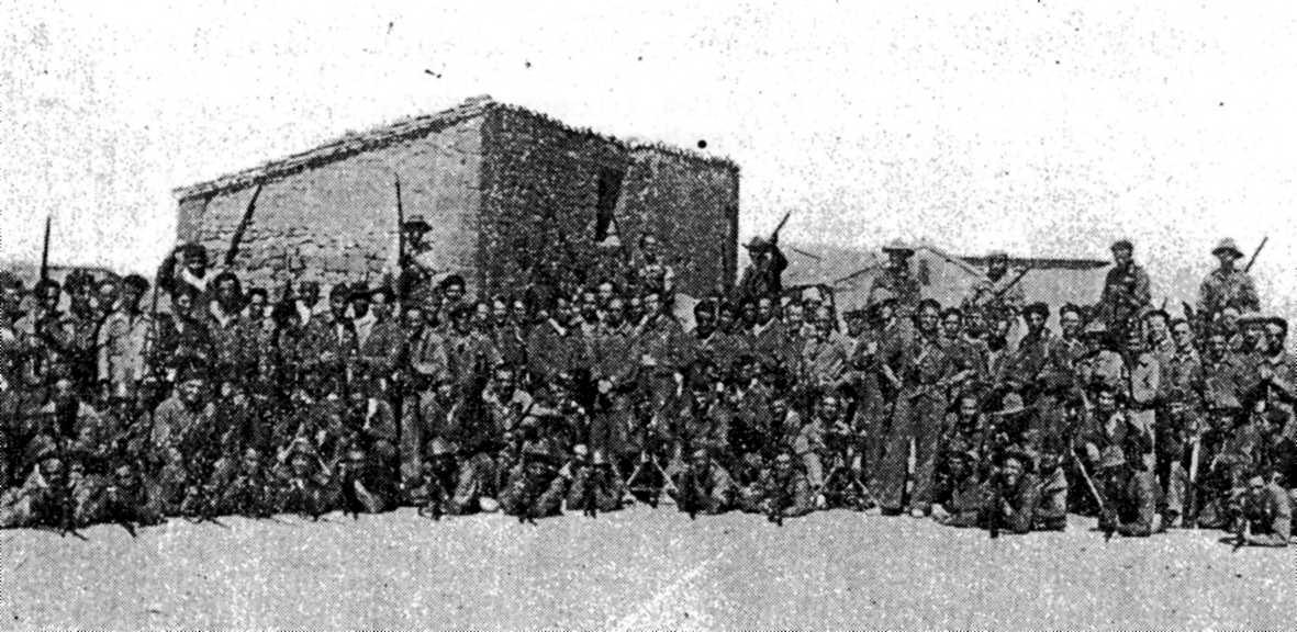 """Membres del """"Batalló Giacomo Matteotti"""""""