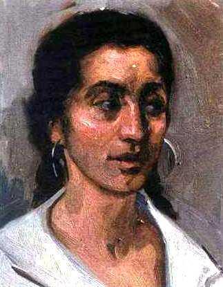Betsabé Espinosa retratada per Nicolás Uribe