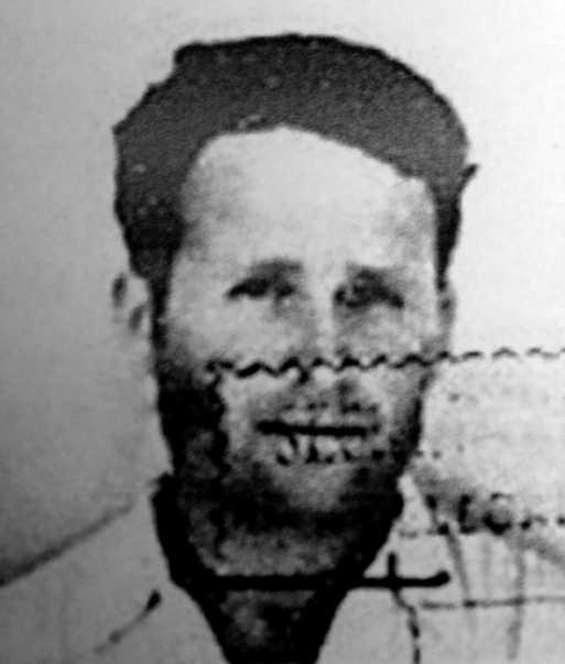 Foto d'Antonio Blanco Bría del Servei de Migració mexicà (1941)