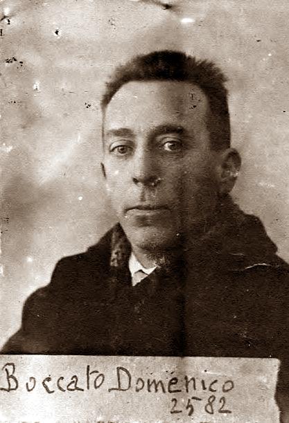 Foto policíaca de Domenico Boccato