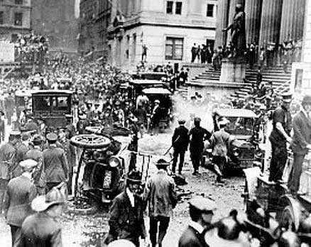 Bomba a Wall Street