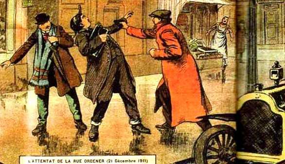 """L'atracament de la rue Ordener segons la revista """"L'Oeil de la Police"""""""