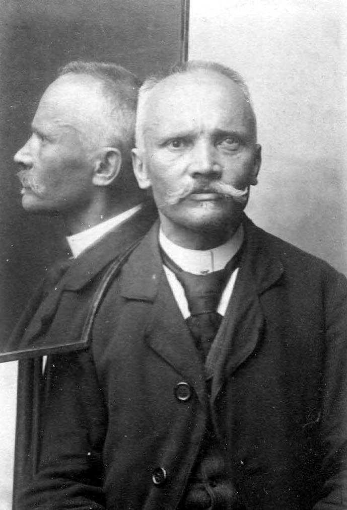 Foto policíaca d'Adolf Brylicki (1900)