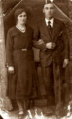 Manuel Bugallo Lois i senyora
