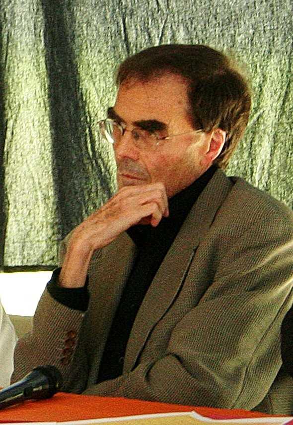 Patrice Caillot a l'Escola d'Estiu del Còmic d'Angulema (juliol de 2007)