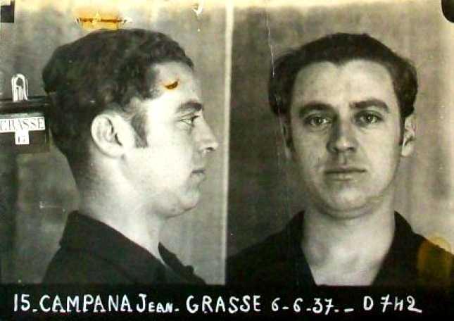 Foto policíaca de Jean Campana