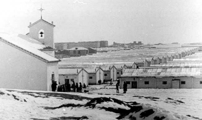 Campo de concentración de presos políticos de Miranda de Ebro (Burgos)