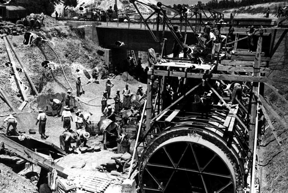 """Esclaus del franquisme al """"Canal de Presos"""" del Guadalquivir"""