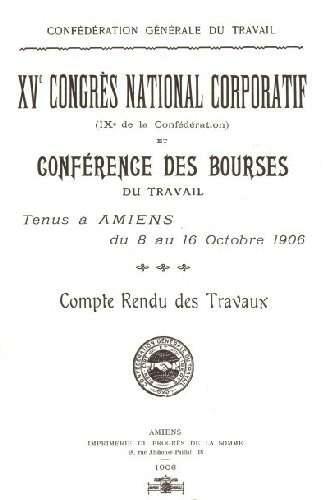 Actes del congrés de la Carta d'Amiens