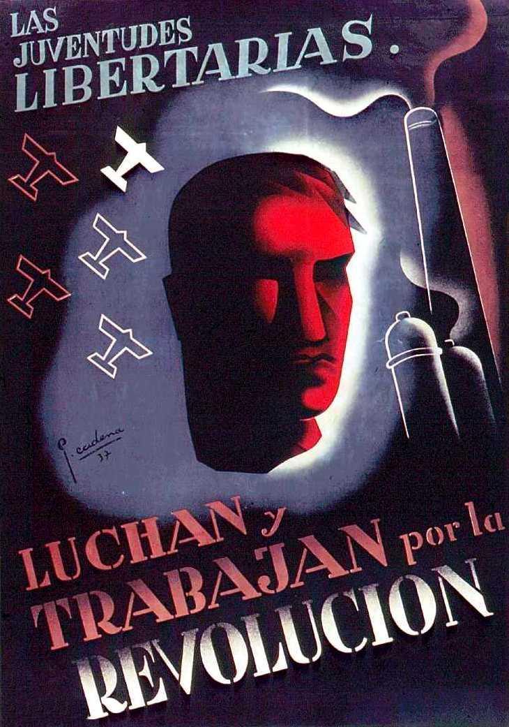 Cartell de la Federació Ibèrica de Joventuts Llibertàries