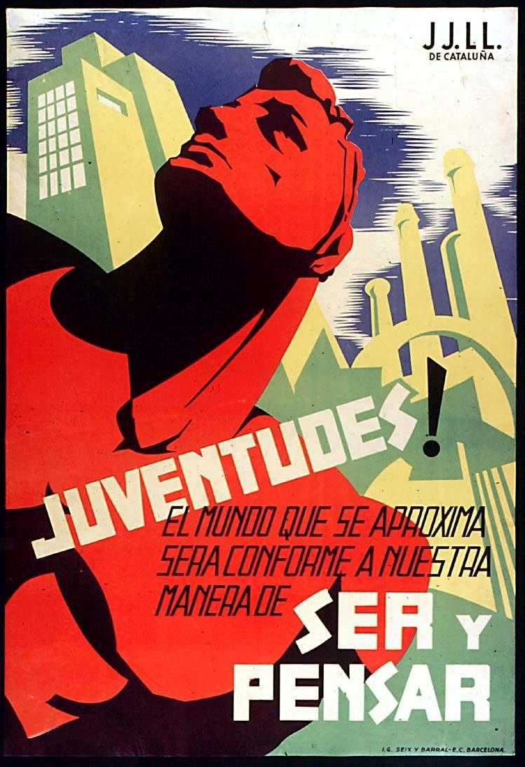 Cartell de les Joventuts Llibertàries catalanes