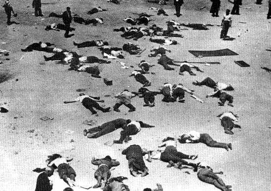Caserna de la Montaña després de la rendició (Madrid, 20 de juliol de 1936)