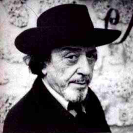 Jean-Roger Caussimon en 1979 fotografiat per son germà Raphae