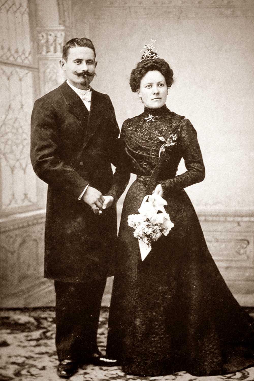 Jean Achille Cauvin y Elia Quinquis