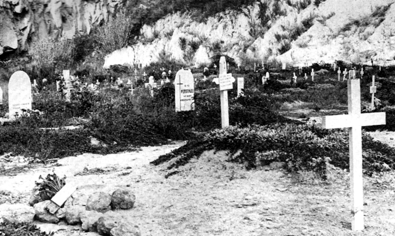 El silenci dels cementiris. Vista parcial del cementiri de Montjuïc