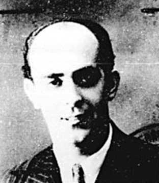 Agustín Centeno Galván en una foto del Registre Nacional d'Estrangers de Mèxic (1947)