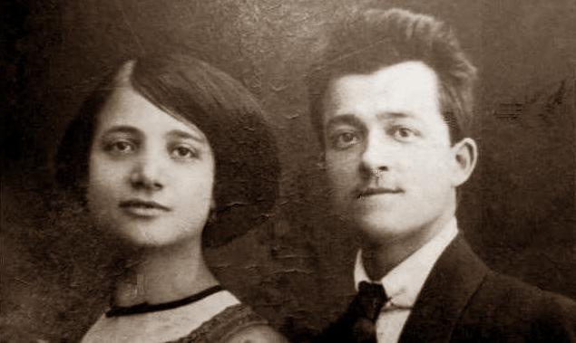 Ruggero Chiarini i sa companya Francesca Albamonte (1917)