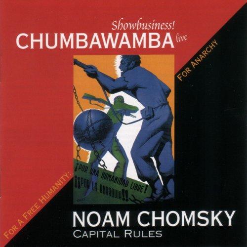 Portada del disc de Chumbawamba i Noam Chomsky