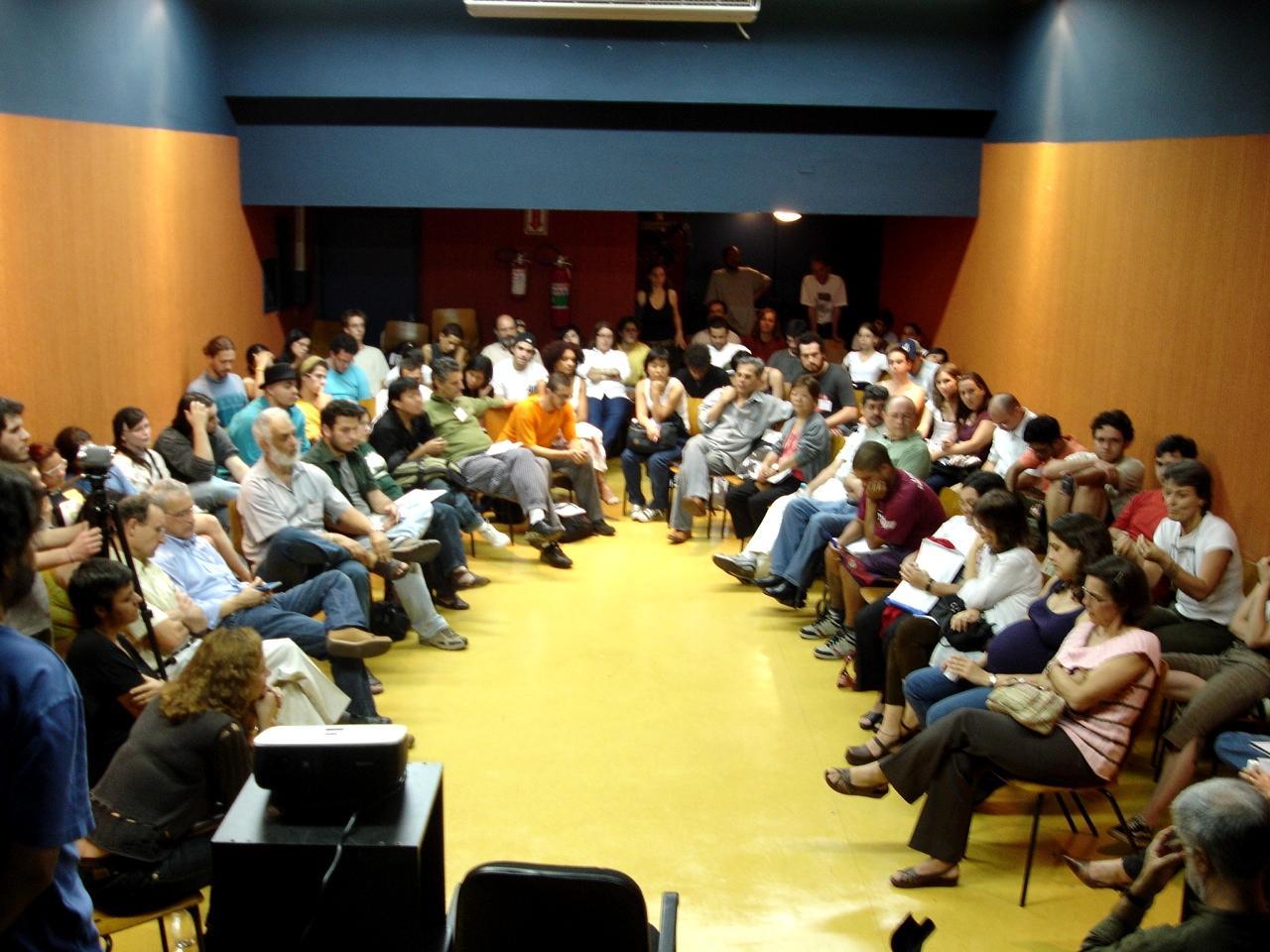 Una sessió del I Col·loqui Internacional d'Educació Llibertària