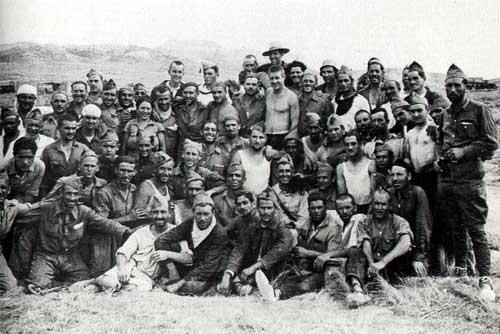 Membres de la Columan Durruti