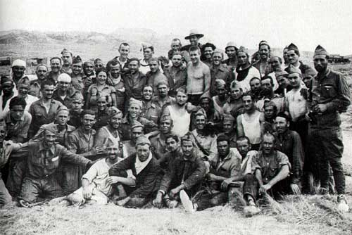 Un grup de la Columna Durruti