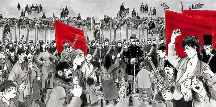 """""""Els canons del 18 de març"""", de Tardi"""