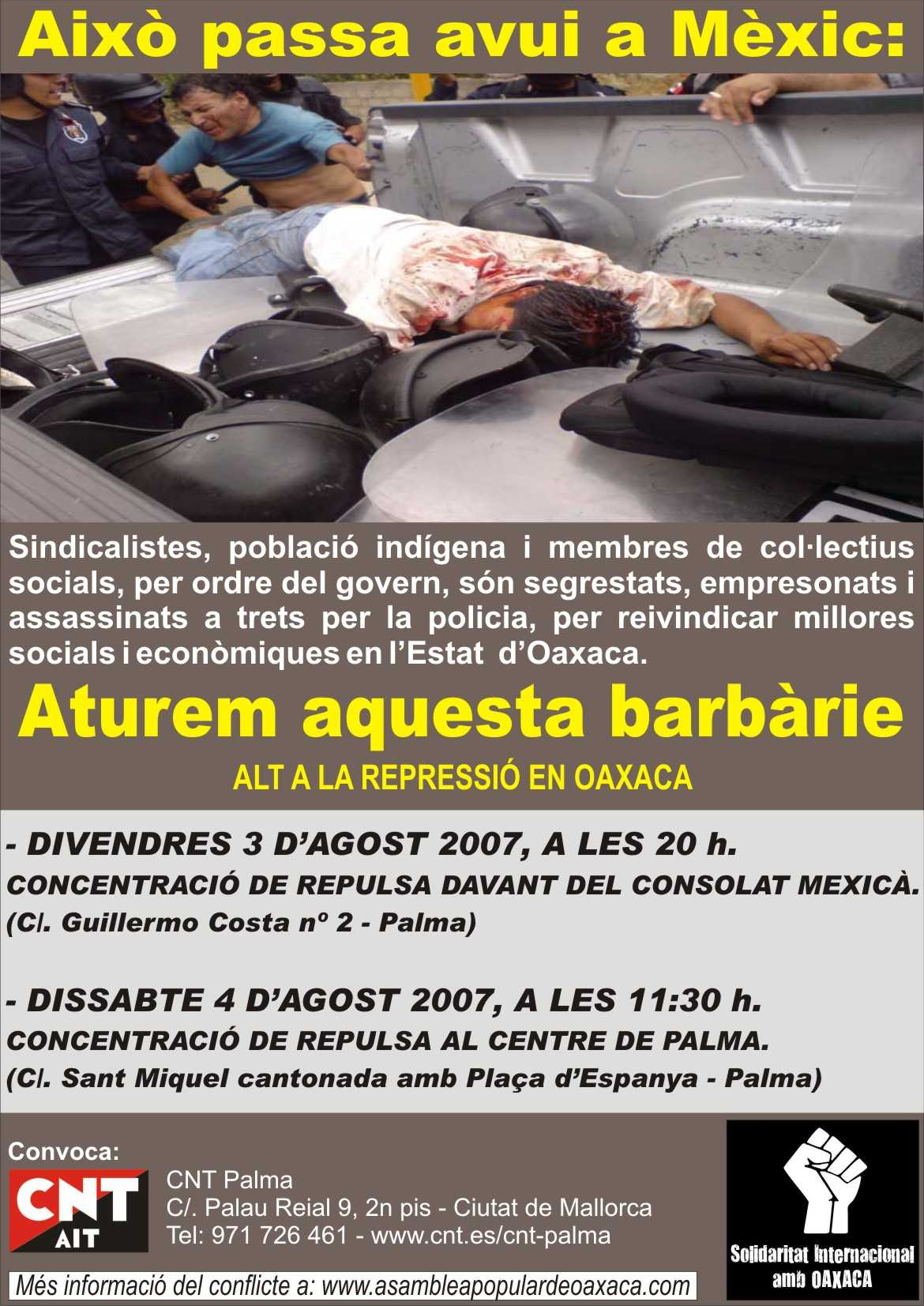 Això passa avui a Mèxic!