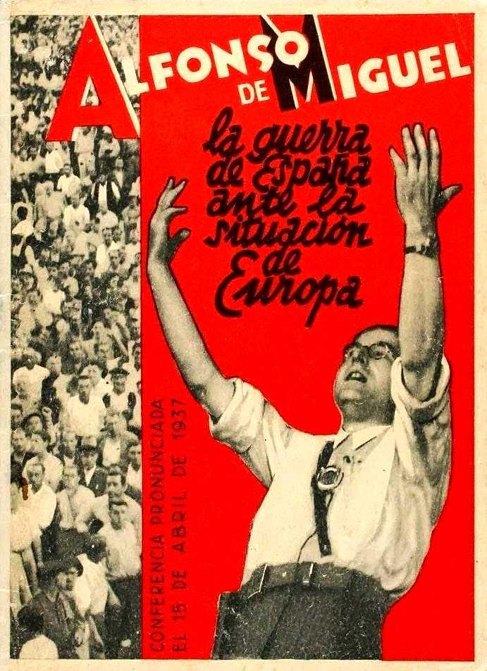 Portada de l'edició de la conferència (1937)