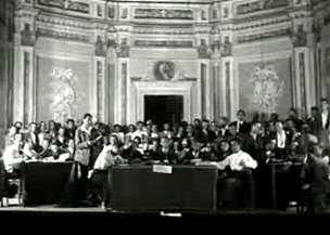 Tribuna del III Congreso de la CNT (1931)