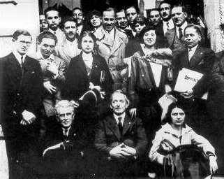 Participants en el 11è Congrés Internacional d'Ido (Sopron, 1930)