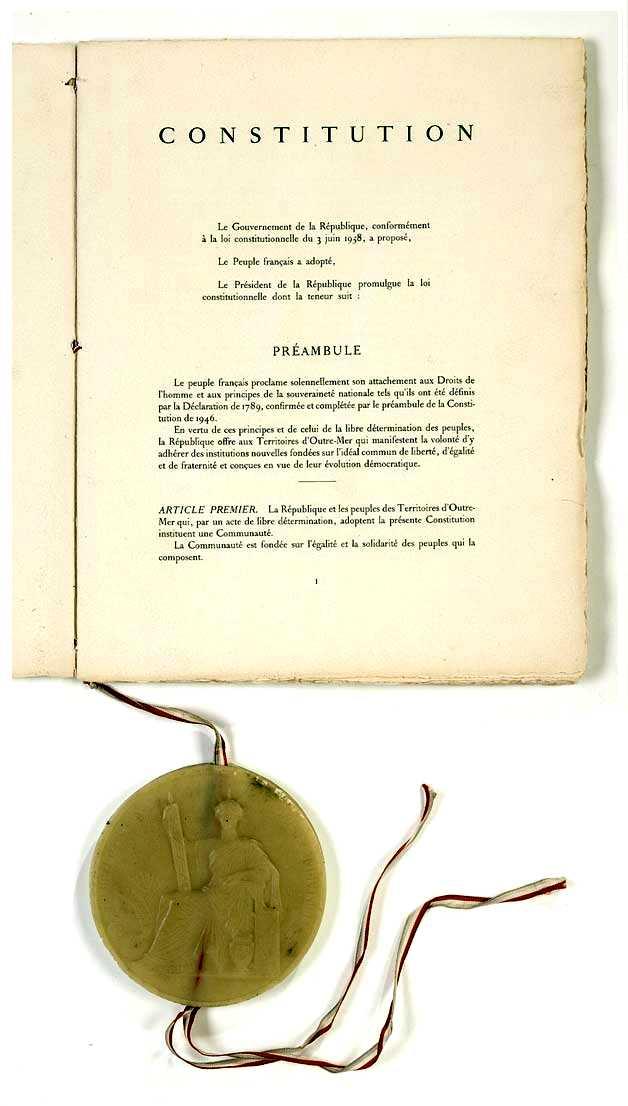 Constitució de la República francesa de 1958