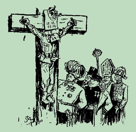 """Crucificat"", per Arthur Stadler (1892-1937)"