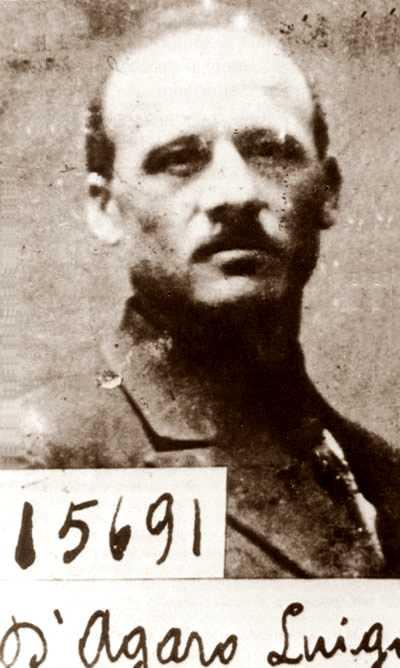 Foto policíaca de Luigi D'Agaro