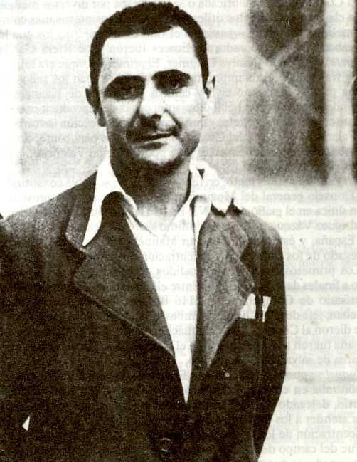 David Antona en la cárcel de Porlier (1942)