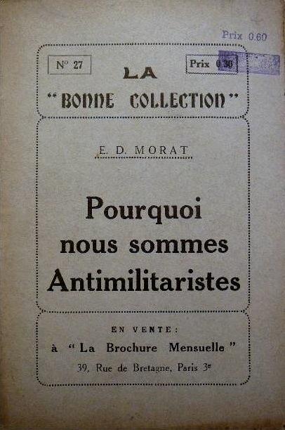 Portada del fullet de Deniau-Morat