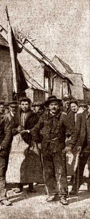 Désiré Depoilly durant els fets de Fressenneveille (abril de 1906)