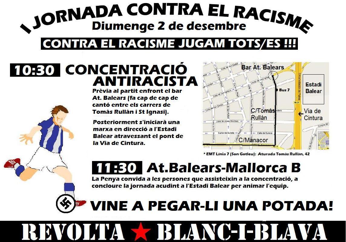 I Jornada contra el racisme