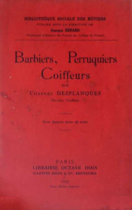 Barbiers, perruquiers, coiffeurs (1927)