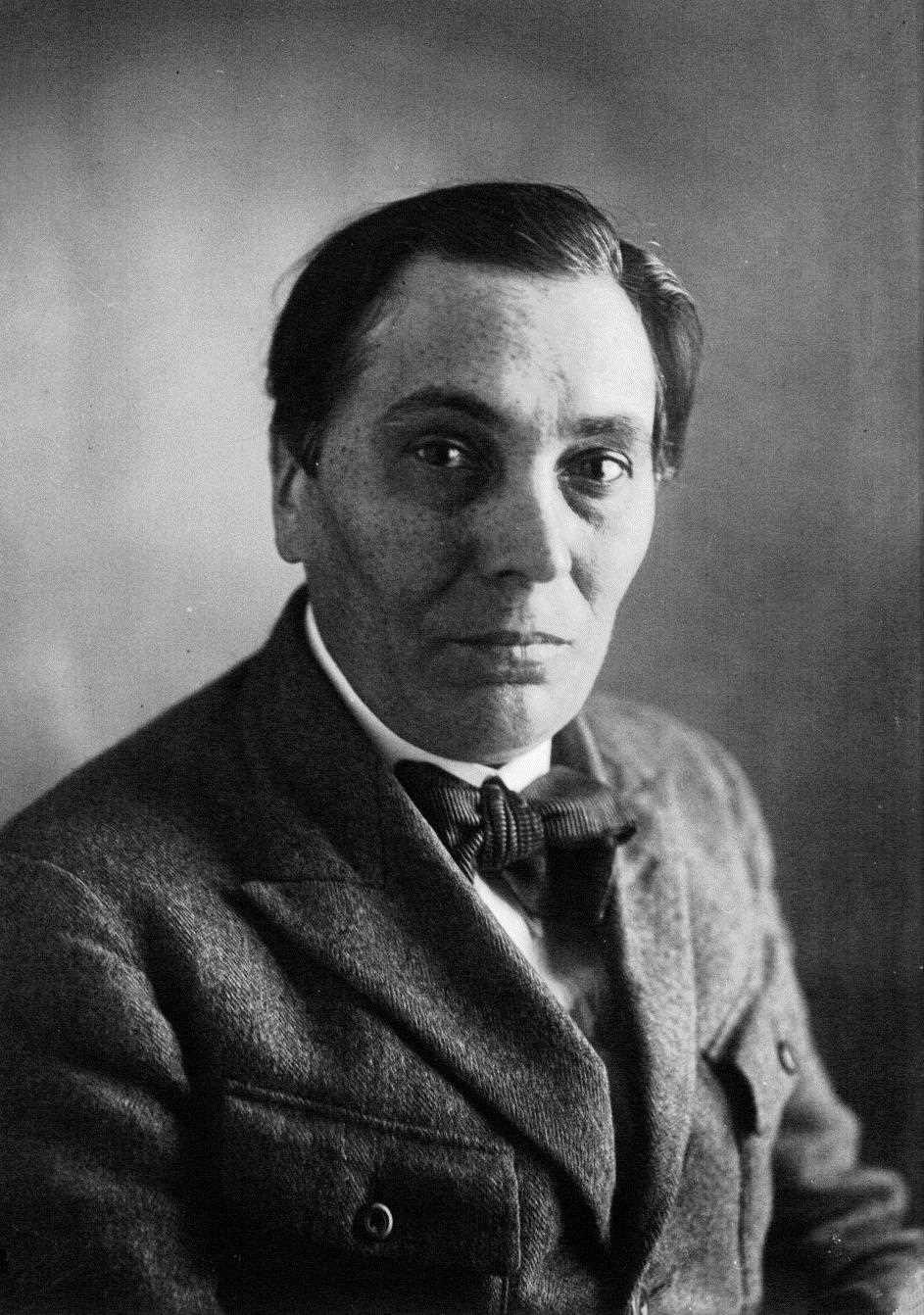 """Fernand Després quan era redactor de """"L'Humanité"""" (1922)"""
